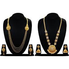 copper necklace set images Chetan arts jewellery copper jewel set gold jpeg