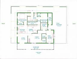 3 Bedroom House Plans With Basement Interesting Design Ideas Pole Barn House Plans With Basement Home