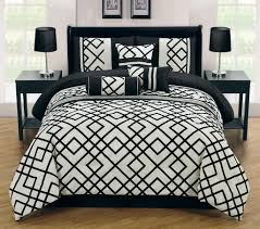 Black Bedding Sets Queen Total Fab Black And Ivory Comforter U0026 Bedding Sets