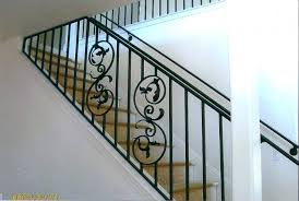 Exterior Stair Handrail Kits Wooden Stair Railing With Glass Wooden Stair Railing Kits
