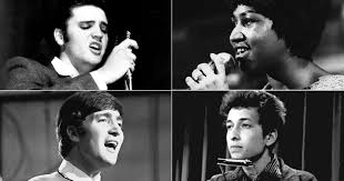 top pop artists 100 greatest singers of all time aretha elvis lennon