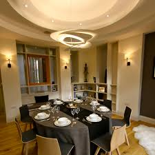 Elegant Dining Room Elegant Dining Room By One 17 Circular Profiled Ceiling Circular