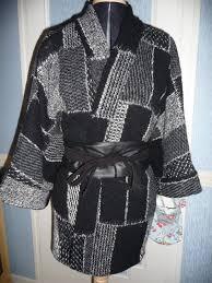 patron veste kimono delphine en aiguille décembre 2010