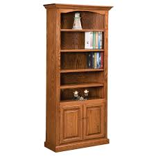 2 Shelf Bookcase With Doors Amish Bookcases Furniture Amish Bookcasess Amish Furniture