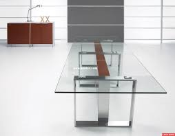 glass top office desk glass office table glass top metal base modern drafting home