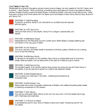 pantone colors for fall 2017 fashion color report for york