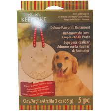 pawprint bone ornament kit