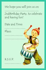 2nd birthday invitations and 2nd birthday invitation wording