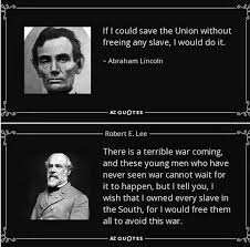 Meme Quotes - fact check lincoln and lee s views on slavery