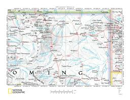 Montana Wyoming Map by Powder River Drainage Basin Landform Origins Montana And Wyoming