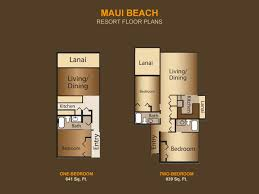 Marriott Waiohai Beach Club Floor Plan Maui Beach Vacation Club Advantage Vacation Timeshare Resales