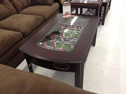 coffee tables attractive nice foosball coffee table and built