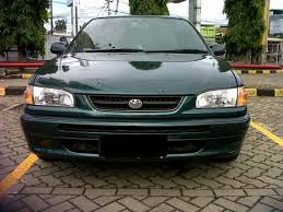 toyota corolla all 1997 corolla all 1 6 hijau metalik th 1997 bandar indonesia