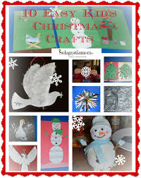 solagratiamom 10 easy kids christmas crafts plus huge giveaway
