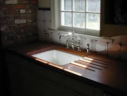 Undermount Sink In Butcher Block Countertop by Wood Countertops Gallery Brooks Custom