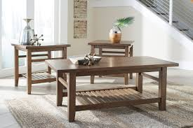 coffee table and end table sets 2 eisley coffee table and 2 end tables nutmeg levin furniture