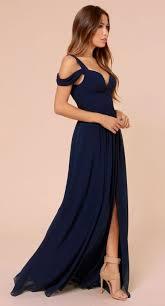 navy blue dress bariano of elegance navy blue maxi dress 2348690 weddbook