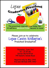 name cards for graduation announcements preschool graduation announcement and invitation name cards this