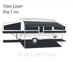 Camper Awning Parts A U0026e Dometic 944gw09 002 9 Foot Flint Trim Line Pop Up Tent Trailer