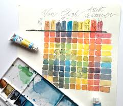watercolor the why and how of color swatching u2014 silver fox
