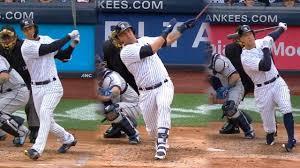judge stanton sanchez homer in yankees win new york yankees