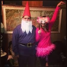 coolest lawn ornaments costume flamingo and gnome lawn