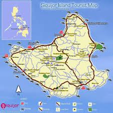 Old San Juan Map Siquijor Dive Sites Resorts Restaurants Tourist Destinations Maps