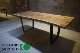 Black Walnut Table Top by China American Walnut Table Top With Steel Legs China Black