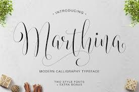 marthina script two style script fonts creative market