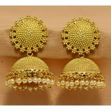 craftsvilla earrings buy alankruthi royal traditional antique golden studded