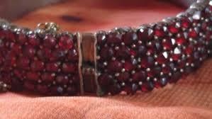 antique garnet bracelet images Bangles bracelets antique victorian 5 row bohemian garnet jpg