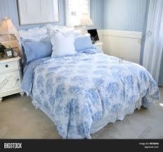 beautiful light blue bedroom stock photo u0026 stock images bigstock