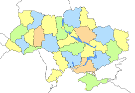 map ukraine administrative divisions of ukraine