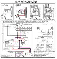 goodman hvac fan wiring diagram furnace fan limit switch control a