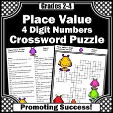 4 digit place value worksheet 2nd grade math review place value
