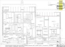working drawings west riding house new housing alterations to
