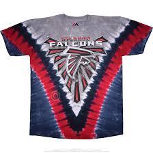 Atlanta Falcons Home Decor by Nfl Atlanta Falcons V Tie Dye T Shirt Tee Liquid Blue