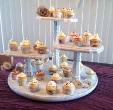 3 tier cupcake stand shabby chic cupcake stand large base 3 tier pedestal