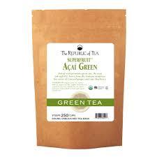 amazon tea amazon com the republic of tea organic blueberry green