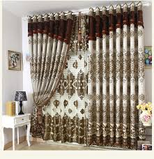 2018 Wholesale Blackout Curtains Cortina Sheer Curtains Blinds New