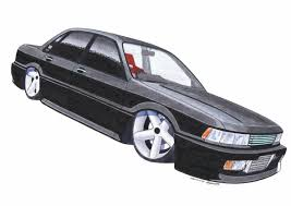 stanced cars drawing slammed by squidinc on deviantart