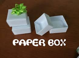 paper gift boxes simple paper gift box standard a4 sheet diy origami
