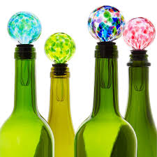 birthstone wine bottle stopper wine gifts glass uncommongoods