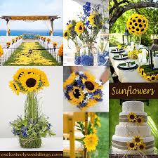 sunflower wedding decorations sunflower wedding theme