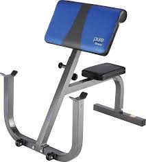 amazon com pure fitness weight training workout adjustable