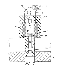 patent us7125058 locking device with solenoid release pin