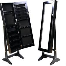 Large Jewelry Armoire Armoire Captivating Stand Up Jewelry Armoire Ideas Jewelry Mirror