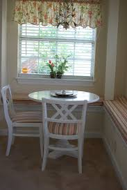 Breakfast Nook Table by Furniture Dark Brown Table With Dark Brown Leather Bench Booth On