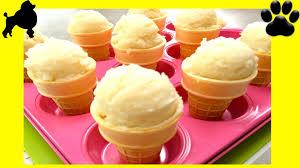 how to make ice cream pinata cones dog ice cream diy dog food by