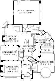 House Plans With Keeping Rooms English Country Style House Plans Plan 106 339